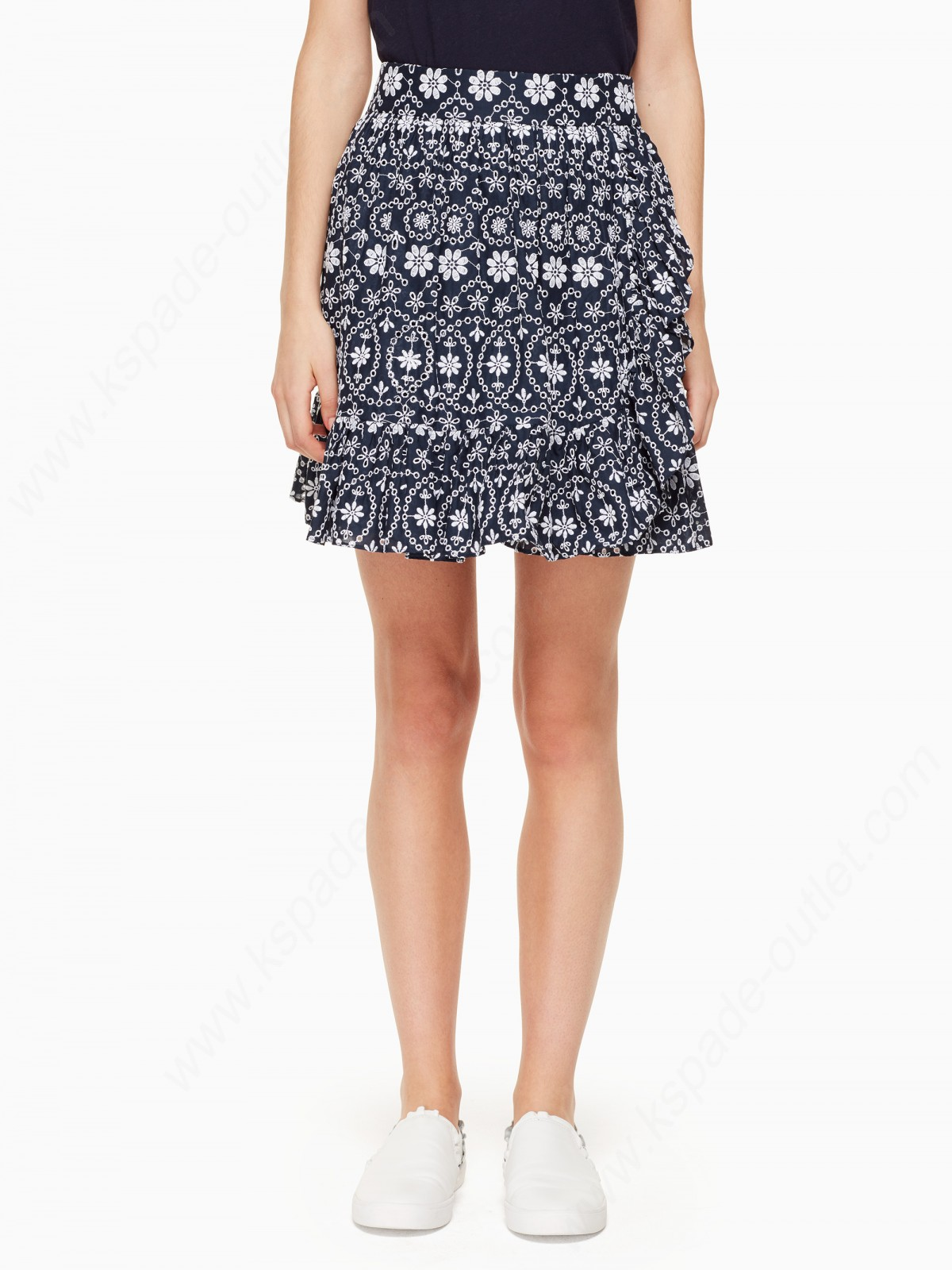 Kate Spade Lady Clothing Eyelet Wrap Skirt - -0