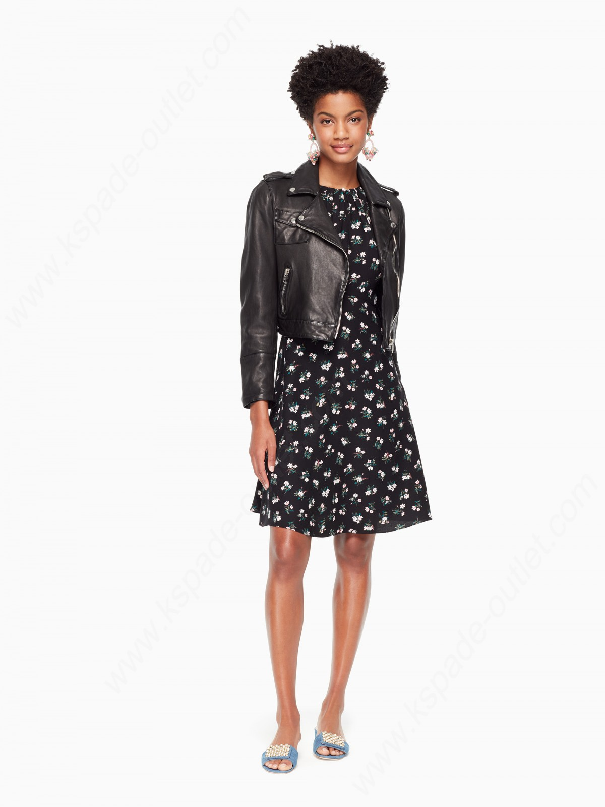 Kate Spade Woman Clothing Flora Tulip Sleeve Dress - -2