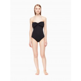 Kate Spade Lady Clothing Georgica Beach Bandeau One-Piece Swimsuit